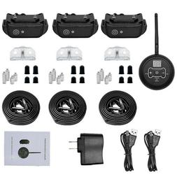 For 3 Dog Wireless Electric Dog Fence Containment System Sho
