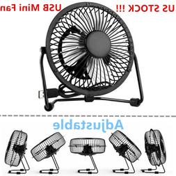 Sale 4inch Small Desk Table Fan Personal USB Air Circulator
