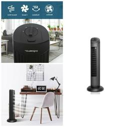 Bladeless Cooling Fan Oscillating Tower Fans Indoor Air Qual