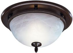 Decorative Bathroom Fan and Light in Oil Rubbed Bronze
