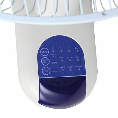 Comfort Zone Quiet Wall Fan Remote