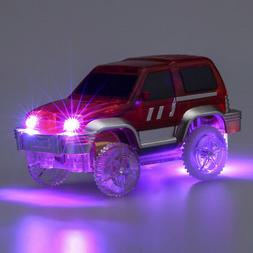 LED Light-Up Car For Magic Electronics Car Toy With Flashing