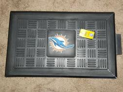 MIAMI DOLPHINS Door Mat OFFICIAL NFL Licensed FAN MATS Rubbe