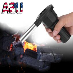 Portable Battery Powered Cooking BBQ Fan Air Blower for Barb