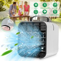 Portable Mini USB Air Conditioner Cooler Humidifier Cooling