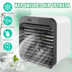 Portable Personal Space Mini Air Conditioner Fan Air Cooling