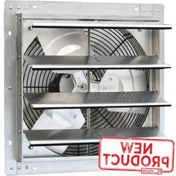 iLiving 16 Inch Variable Speed Shutter Exhaust Fan, Wall-Mou